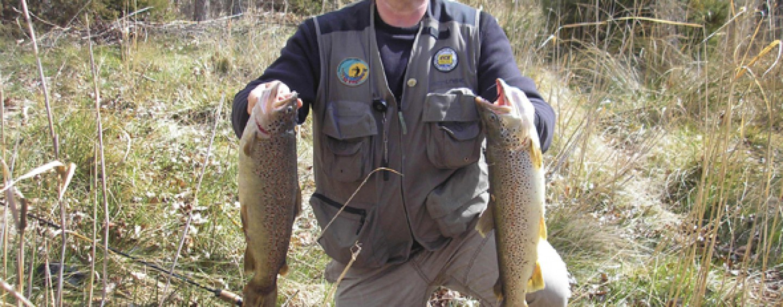 Nociones básicas para iniciarse en la pesca en cotos intensivos de trucha