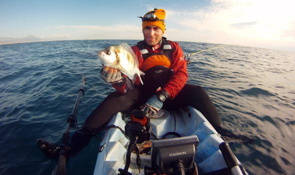 Jaime Agulló nos da algunas recomendaciones para pescar chopas desde kayak