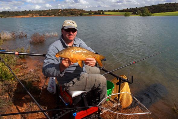 OLYJosan Illescas nos da algunos consejos para pescar carpas en el pantano de Alarcón.
