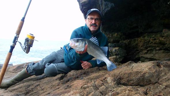 Chano Castañón, pescador asturiano.