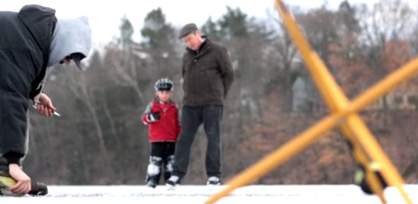Fotograma del vídeo de pesca ¡Capturas bajo el hielo!