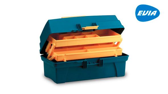 artículos para pescar carpas Caja de plástico