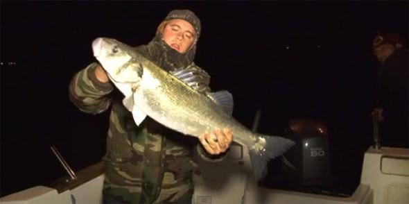 Vídeo de pesca: desafiando lubinas en la costa de Huelva