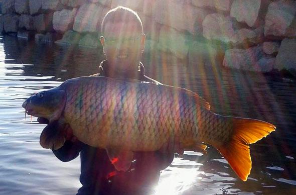 Yeras Fuende ha quedado en segundo puesto en nuestro concurso de fotos de pesca.