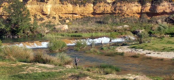 Río Guadiela, un paraíso para la pesca del barbo