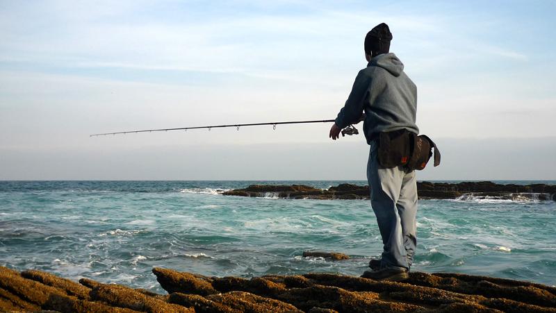 Riñonera de pesca