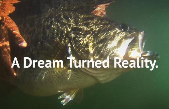 Imagen de presentación de Big Bass Dream, proyecto protagonista de nuestro vídeo de pesca de hoy.