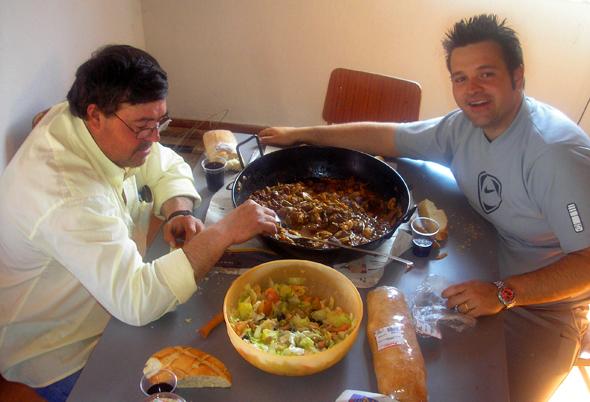 Josan Illescas nos habla de la dieta del pescador para soportar una dura jornada.