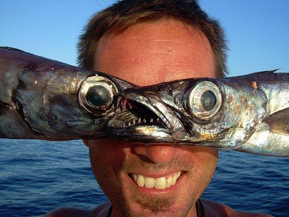 La locura de montar un blog de pesca. Foto de Loreto Rodríguez.