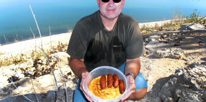 Dieta para una dura jornada de pesca