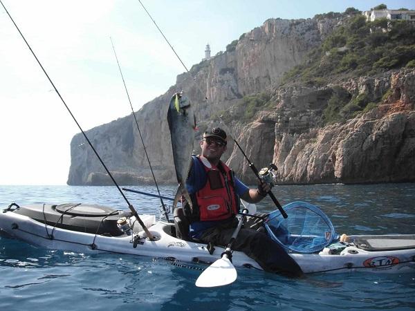 Kayak de pesca Rotomod