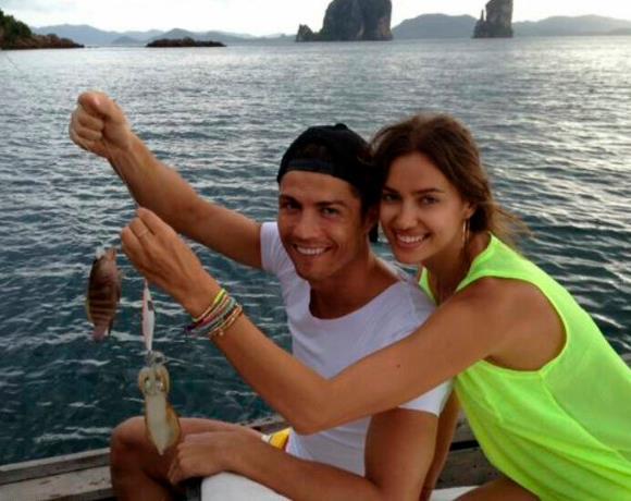 Famosos de pesca: Cristiano Ronaldo