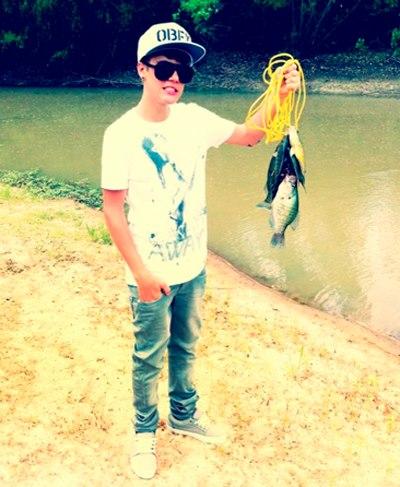 Famosos de pesca: Justin Bieber
