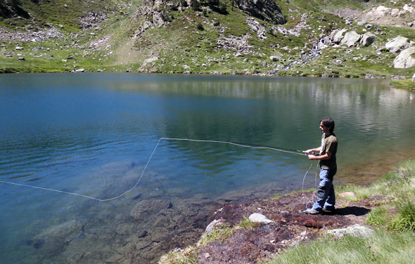 pesca a mosca en Andorra