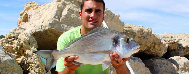 5 claves para pescar doradas en el crudo verano