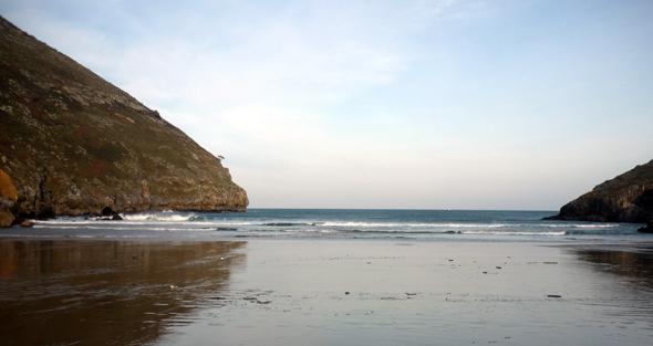 Consejos para pescar lubinas en bancos de arena