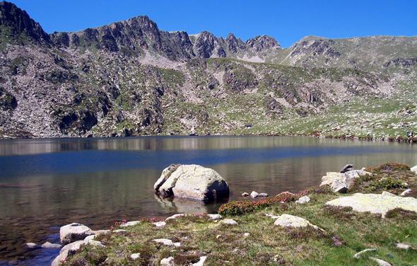Andorra, un lugar de truchas y los salmones.