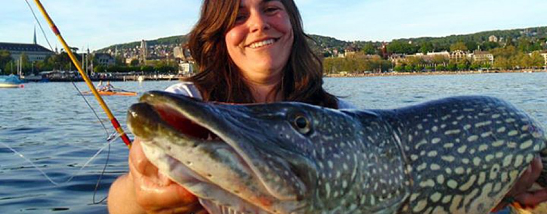 Mujeres pescadoras: Daniela Bevilacqua, obsesión por la pesca deportiva