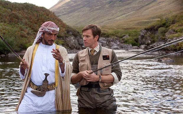 Pesca y cine: Pesca del salmón en Yemen.