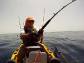 Batallando desde un kayak con un mostruo oceánico, el marlin