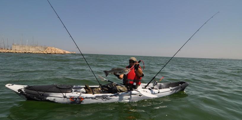 Comodidad y seguridad en nuestras jornadas de pesca en kayak