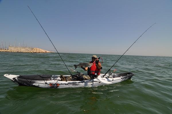 Jornada de pesca en kayak