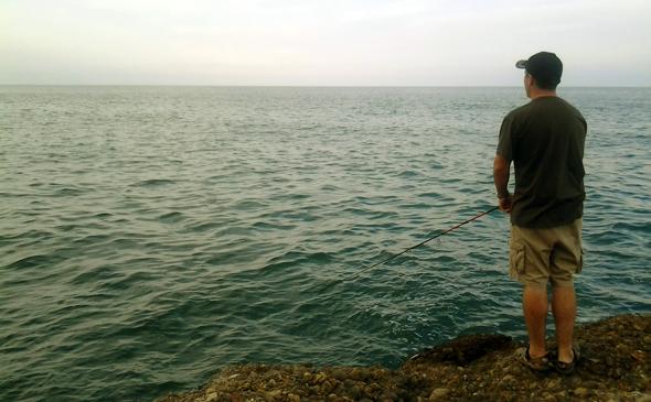 Pescar en otoño