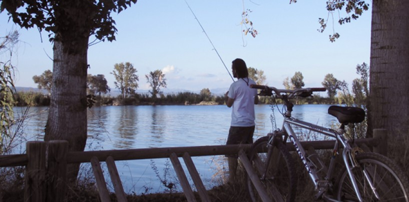 La bici-pesca, una sana alternativa