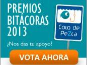 ¡Pasos a seguir para que nos VOTES en los Premios Bitácoras 2013!
