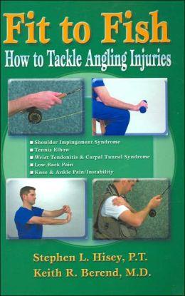 Libro de Keith Berend en el que habla de cómo prevenir las lesiones en la pesca a mosca.