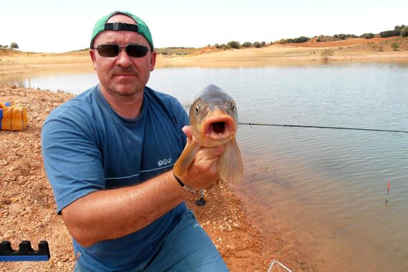 Josan Illescas nos da algunos consejos para pescar carpas a la inglesa