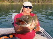 Pesca en el pantano de Bolarque, un reto para los pescadores