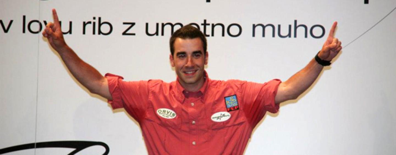 David Arcay, de A Coruña al cielo de la pesca deportiva