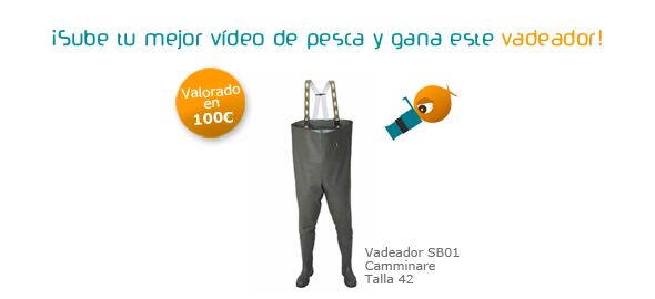 Concurso de vídeos de pesca de Coto de PeZca
