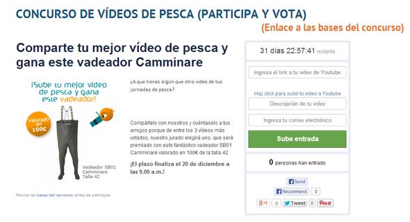 Concurso de vídeos de pesca de Coto de PeZca.