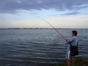 Pesca con budó
