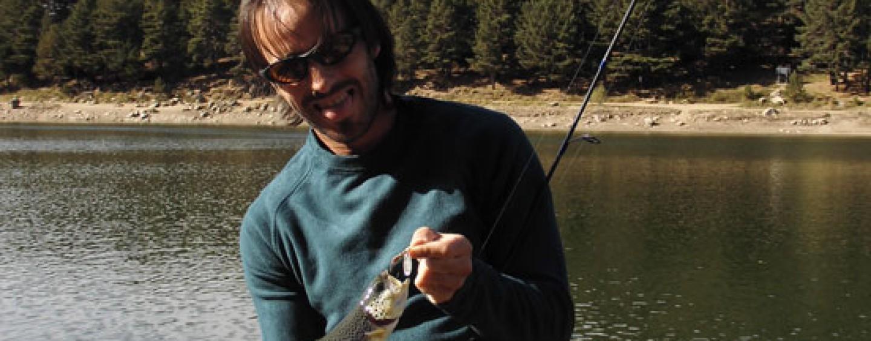 Pesca de trucha a spinning, una  modalidad cada día más complicada