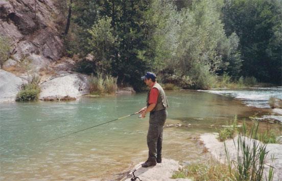 pescando con cucharilla