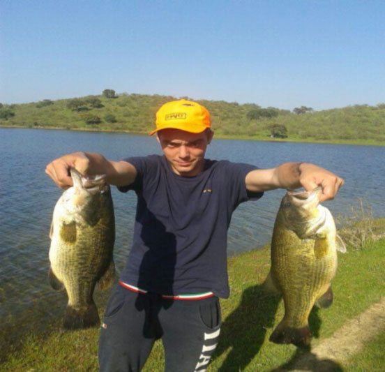 pesca del blackbass en primavera
