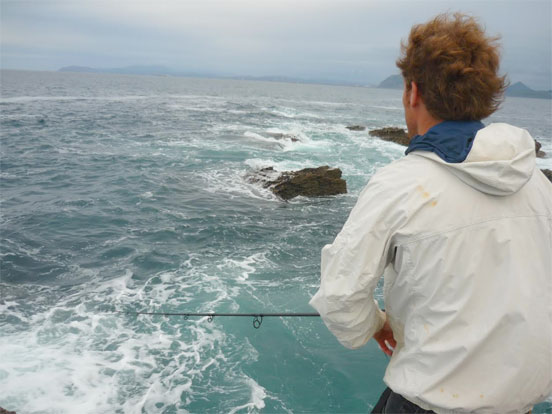 El pescador y la captura