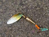 Tres cucharillas para la pesca de Reo