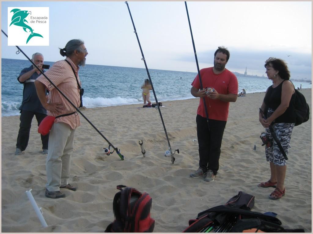 Curso de pesca surfcasting