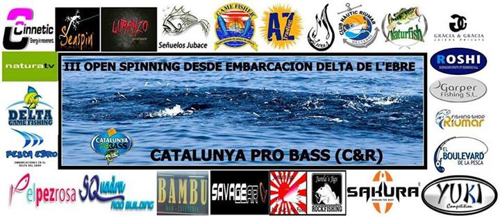 III Open Spinning Desde Embarcación Delta de L'Ebre