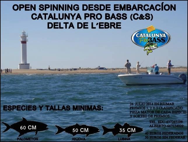III Open Spinning Embarcación Deltebre