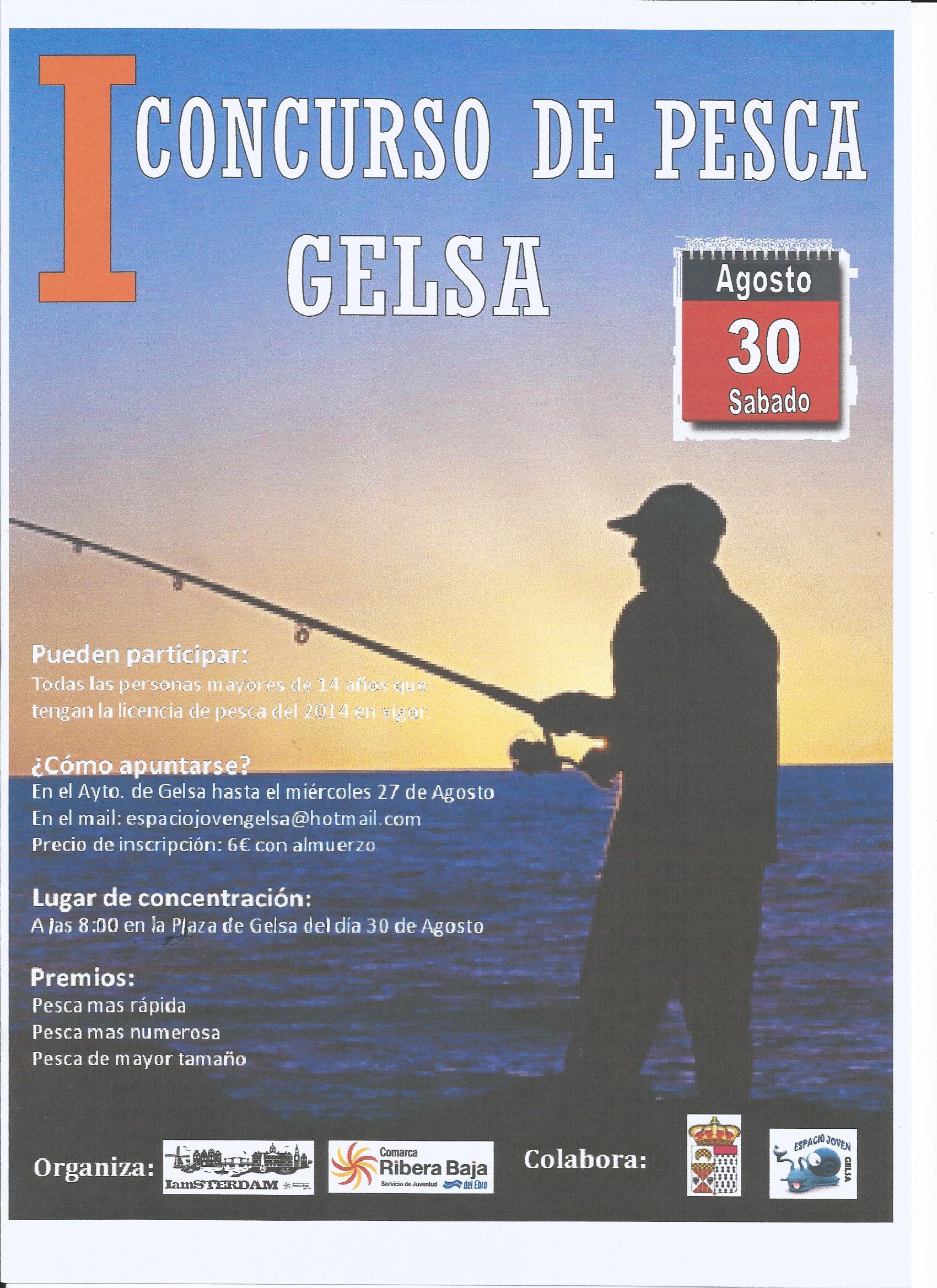 Primer concurso de pesca Gelsa