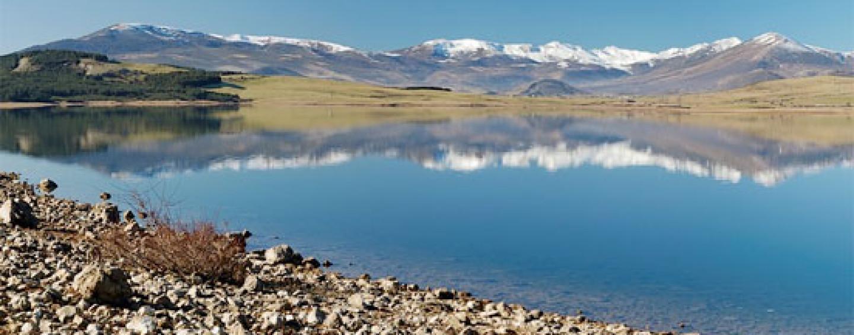 Pesca en el embalse del Ebro