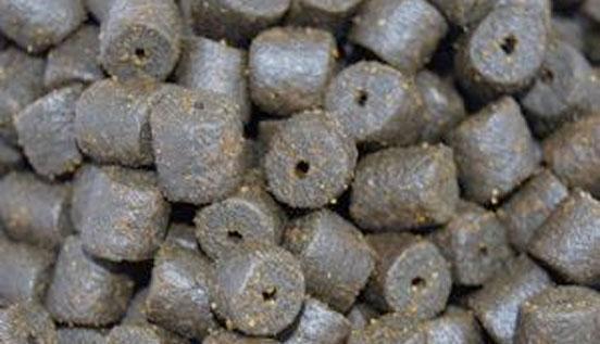 pellets para pesca de barbos en otoño
