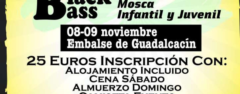 El Open de pesca Diputación, Pesca del blackbass Cádiz 2014