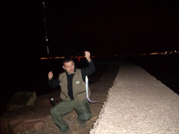 pesca de congrio en invierno