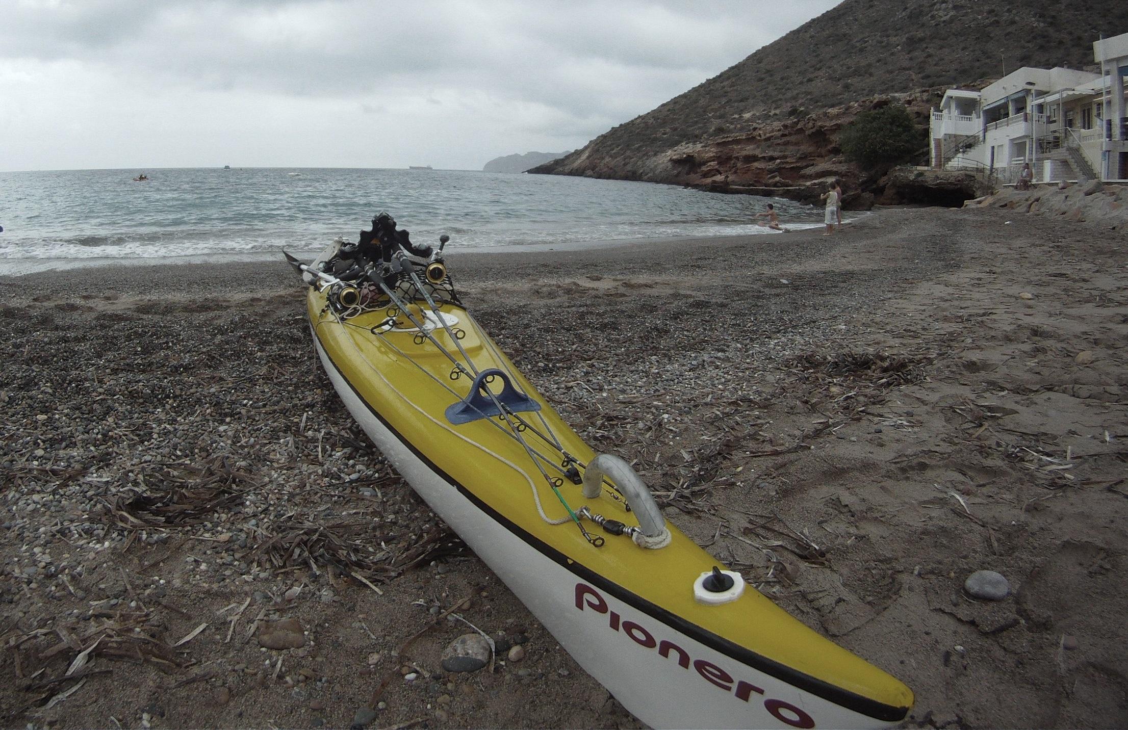 kayak de pesca de Fibra de vidrio